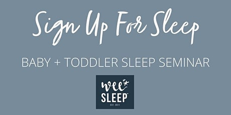 Your mental health and your baby's sleep tickets
