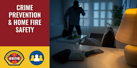 IN-PERSON: Crime Prevention & Home Fire Safety - Campbell tickets