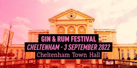 The Gin & Rum Festival - Cheltenham - 2022 tickets