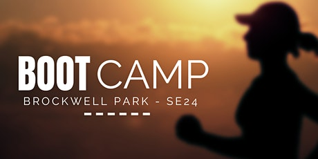 BOOT CAMP AT BROCKWELL PARK 2021 - Monday tickets