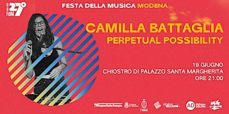 """Camilla Battaglia """"Perpetual Possibility"""" tickets"""