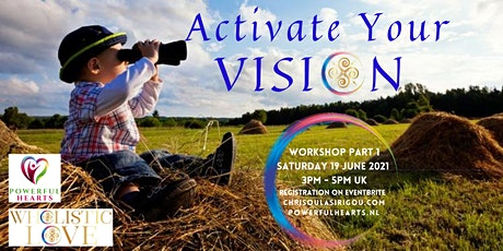 Activate Your VISION: Creative Vision Board Online Workshops Series tickets