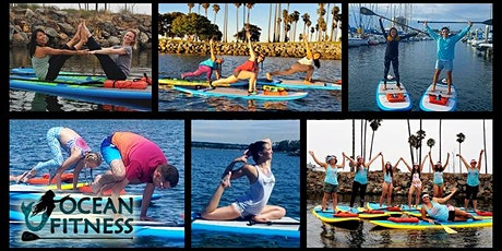 Ocean Fitness Paddle & SUP Yoga Class in Downtown St Pete! tickets