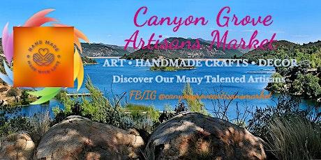 Canyon Grove Artisan's Market tickets