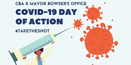CBA x Mayor Bowser's Office - COVID-19  Day of Action tickets