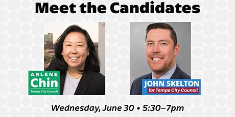 Meet the Candidates: The Honorable Arlene Chin and John Skelton tickets