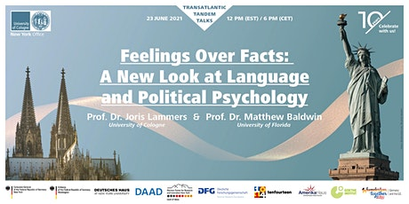 Feelings over Facts: A New Look at Language and Political Psychology tickets