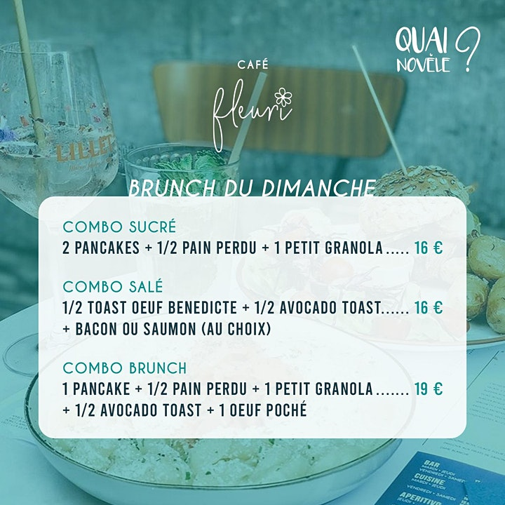 Image pour Quai Novèle ? // Brunch du dimanche by Café Fleuri
