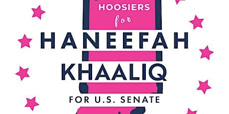 Meet & Greet Haneefah Khaaliq for U.S. Senate - Arthouse Gary, IN tickets