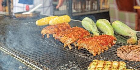 Summer Backyard BBQ at Pinstripes in San Mateo tickets