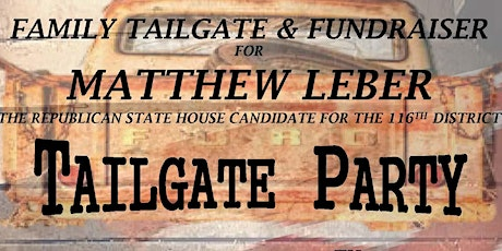 Family Tailgate and Fundraiser - Matthew Leber tickets
