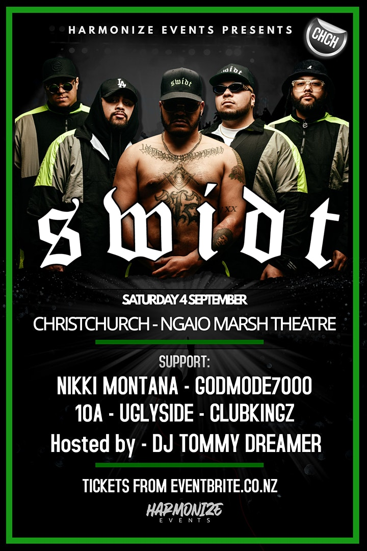 SWIDT - LIVE IN CHRISTCHURCH! image