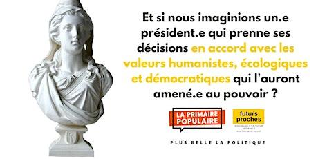 """Atelier """"Plus belle la politique"""" et """"futurs proches"""" billets"""