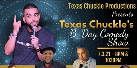 Texas Chuckle's Bday Comedy Show tickets