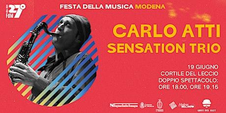 Carlo Atti Sensation Trio biglietti
