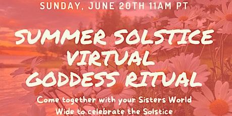 Summer Solstice Virtual Ritual tickets