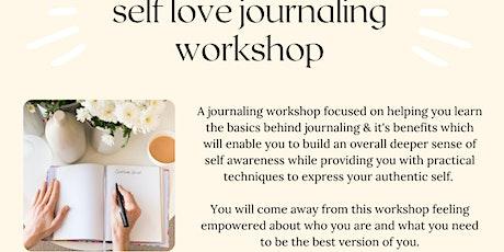 Self-Love Journaling Workshop tickets
