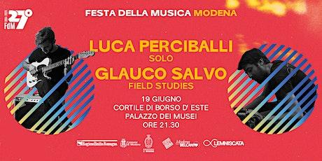 Luca Perciballi | Glauco Salvo biglietti