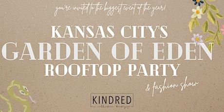 Kansas City's Garden of Eden Rooftop Party! tickets