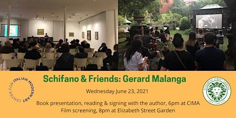 Schifano & Friends: Gerard Malanga tickets