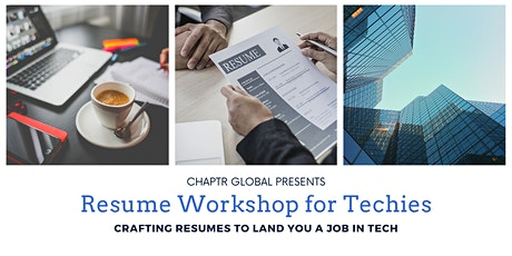 Tech Career Dev Workshops –Building Resumes to Land Jobs in 'Big Tech' tickets