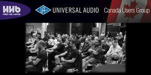 Universal Audio Users Group - An Evening of Recording...