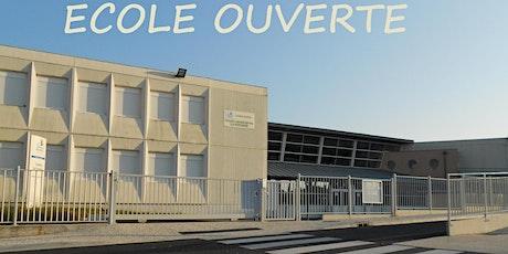 ECOLE OUVERTE-Collège La Fontaine- 27 août 2021 billets