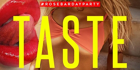 Taste Saturdays Day Party at Rosebar DC Rooftop tickets