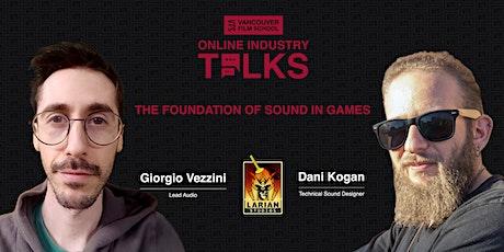 VFS Online Industry Talks: Larian Studios tickets