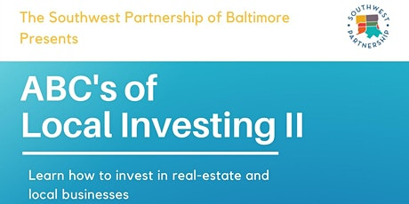 ABC's of Local Investing II tickets