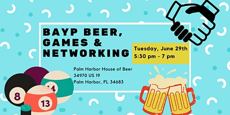 BAYP Beer & Games at Palm Harbor House of Beer tickets