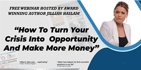How To Turn Your Experience Into Opportunity And Make More Money tickets