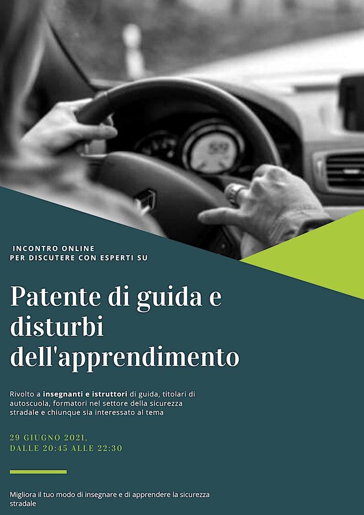 Immagine Patente di guida e disturbi dell'apprendimento