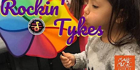 "Rockin' Tykes: ""Splish  Splash"" for World  Make Music Day entradas"