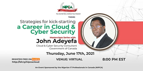 Cloud & Cyber Security Consulting in Canada tickets