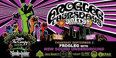 FROGLEG Thursdays with New Sound Underground tickets