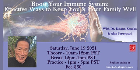 Boost Your Immune System Online tickets