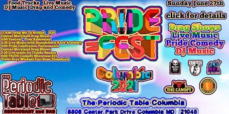 PrideFest!  Festival Celebrating Equality!  Columbia 2021 tickets