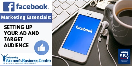 Facebook Marketing Essentials: Setting Up Your Ad's Target Audience tickets
