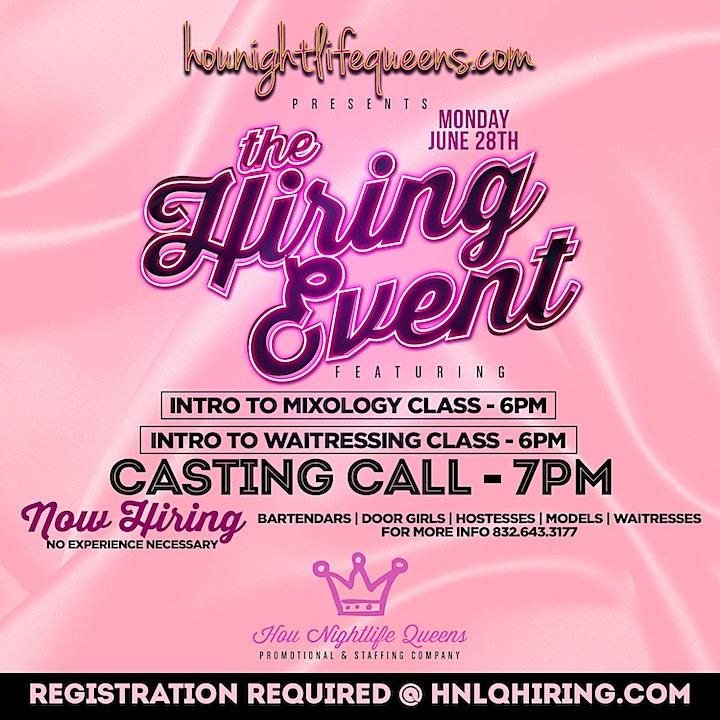 Houston Nightlife Queens Hiring Event image