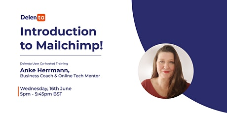 DISCOVER HOW TO USE MAILCHIMP WITH CONFIDENCE. tickets
