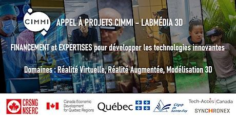 Appel à projets Labmédia 3D : Réalité virtuelle et augmentée, modélisation billets