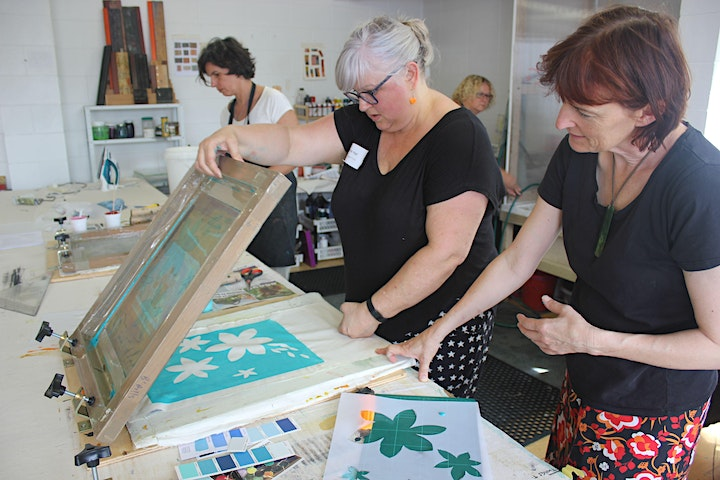 Screen Printing on Fabric for Beginners - 1 Day Workshop image
