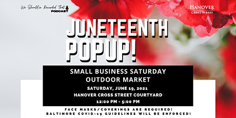 Juneteenth Popup tickets