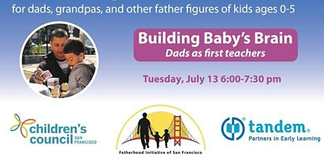 Building Baby's Brain- Dads as First Teachers! tickets