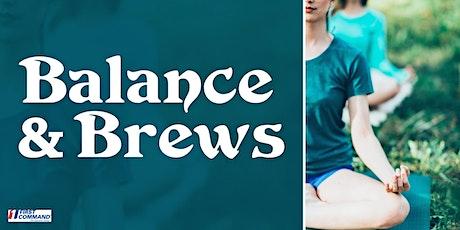 Balance and Brews tickets