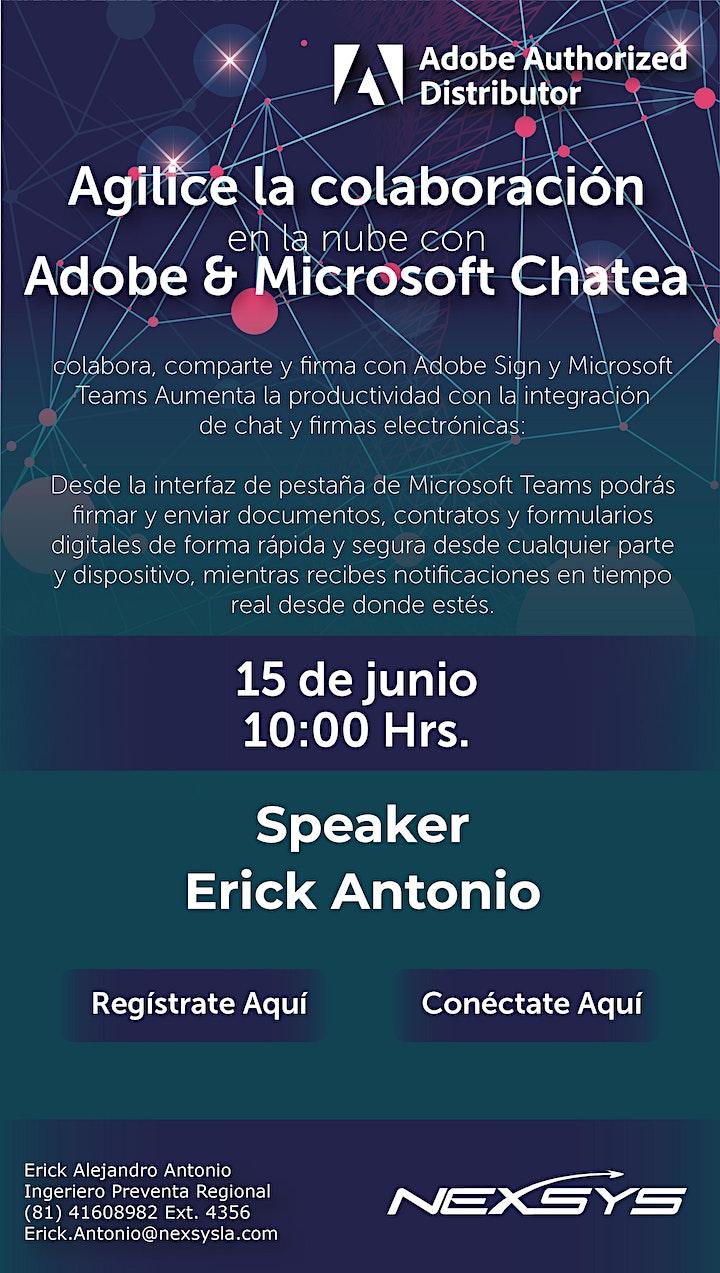 Imagen de Agilice la colaboración en la nube con Adobe & Microsoft