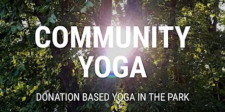 Community Yoga at Clay Park tickets