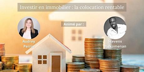 Investir en immobilier : la colocation rentable tickets