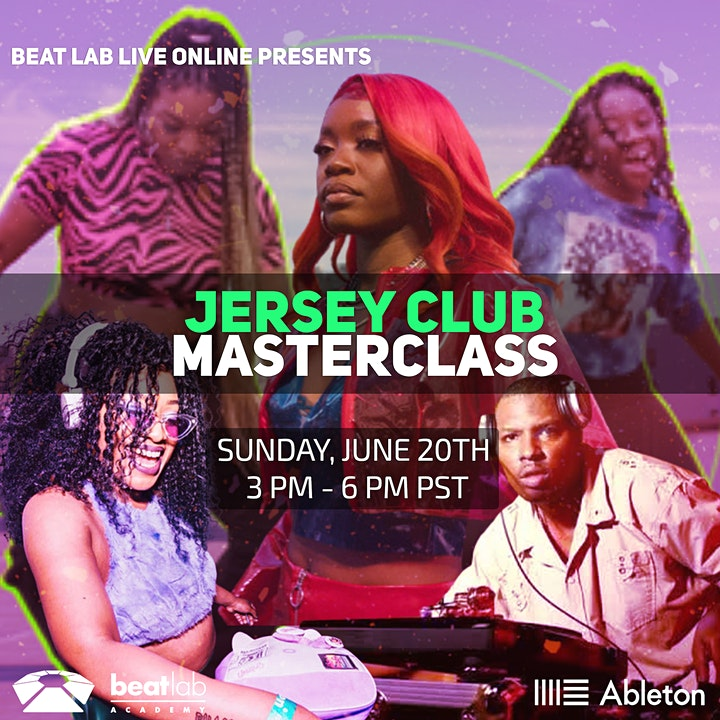 Jersey Club Masterclass w/ Side Brain image